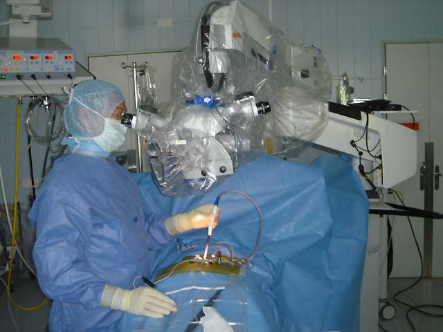 Mikroskopische Operation